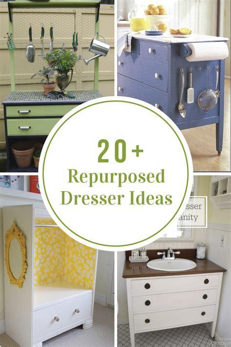 Repurposed Dresser Ideas   The Idea Room