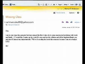 How not to email a professor « Why Evolution Is True