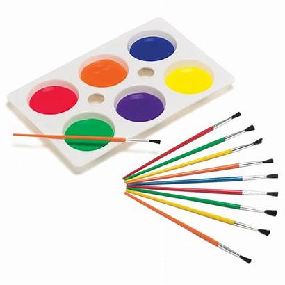 Brush Painting Paint Clipart Brushes Exterior Clip