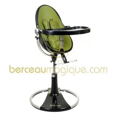 chaise haute bb bloom 21955 chaise haute fresco bloom loft noir assise