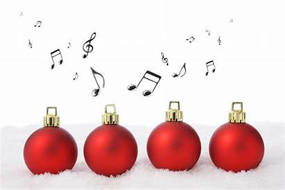 Holiday Holidays Christmas Musical Note Snow Background