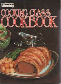 AWW Cooking Class Cookbook   Australian Womens Weekly Used