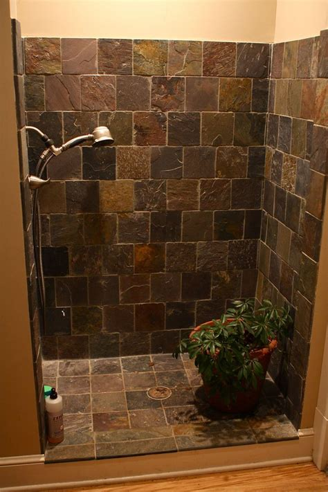 diy shower door ideas bathroom  doorless shower