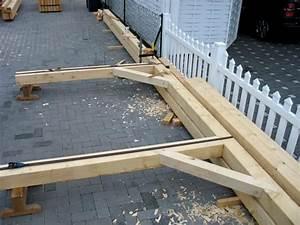 Holzhütte Selber Bauen Kosten : tragwerk f r carport mit bild carport pinterest carport tragwerk und garten ~ Markanthonyermac.com Haus und Dekorationen