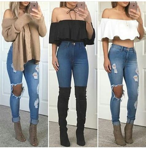 Party outfits with skinny jeans u2013 Super Jeans in dieser Saison