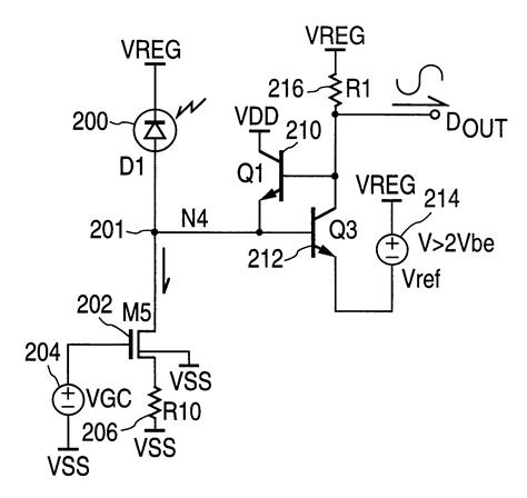 Patent Photodiode Transimpedance Circuit