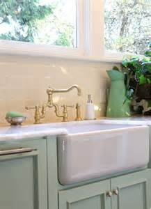 Farm House Style Sink by Kitchen Ideas Farm Sinks Contemporary Kitchens To Country