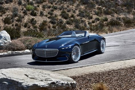 Maybach Car : Vision Mercedes-maybach 6 Cabriolet Is A Showstopper At