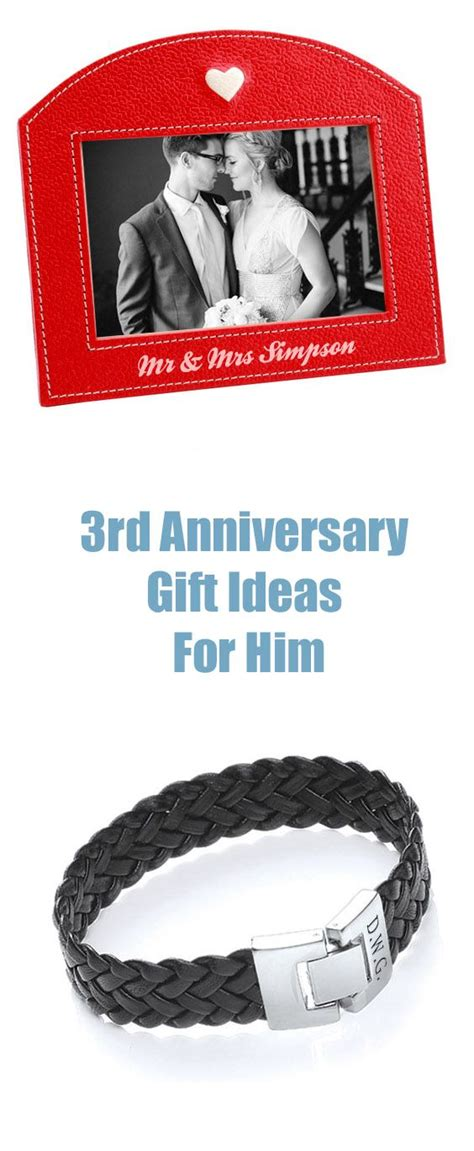 3rd year anniversary gift 3rd anniversary gifts anniversary gift by year and anniversary gifts on pinterest