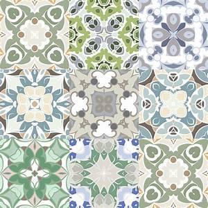 Stickers Carreaux De Ciment : 9 stickers carreaux de ciment azulejos anastasio cuisine ~ Premium-room.com Idées de Décoration
