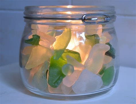 sea glass ideas projects garden living  making