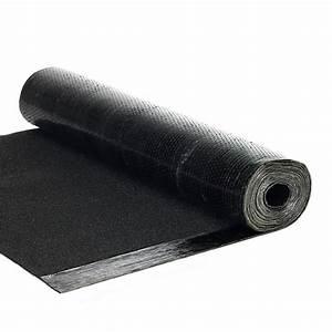 Bache Anti Herbe Sous Gravier : bardeau en rouleau noir l 1 x l 7 5 m asphaltco leroy merlin ~ Edinachiropracticcenter.com Idées de Décoration