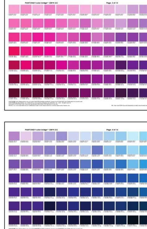 color chart 2 vintage japanese inspiration pantone