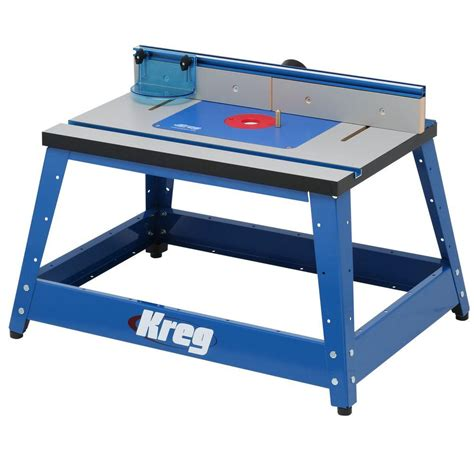 kreg precision bench top router table prs  home depot