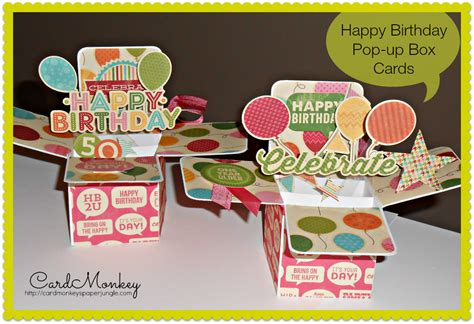 Cardmonkey's Paper Jungle Happy Birthday To Two Very