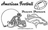Coloring Football Printable American Drawing Denver Bay Packers Boys Broncos Helmet Players Sports Oz Books Team Rodgers Aaron Sketch Sketches sketch template