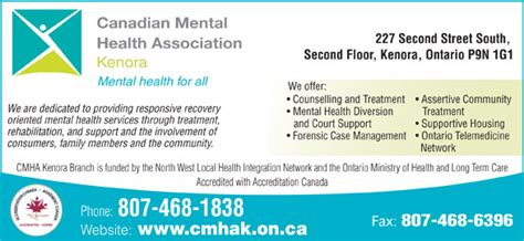 cmha phone number canadian mental health association 227 second s