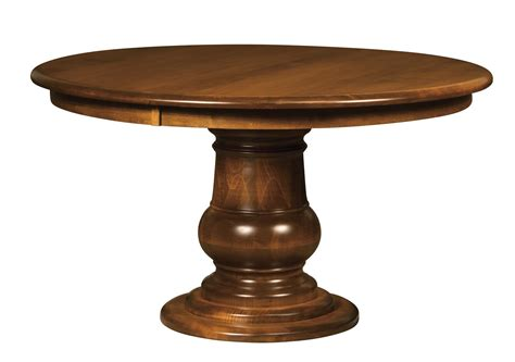 camrose single pedestal dining table  dutchcrafters