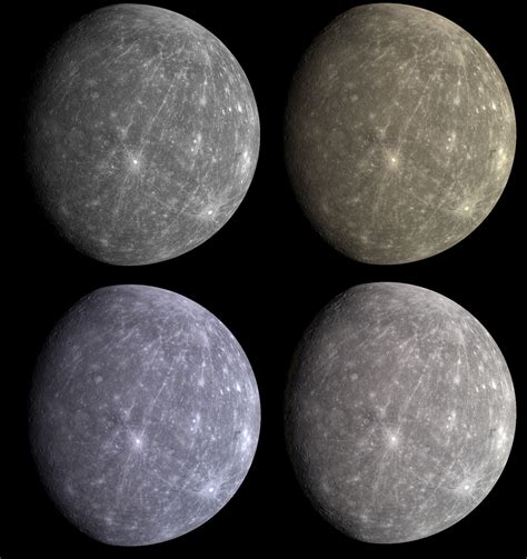 what colour is mercury dan s science journal