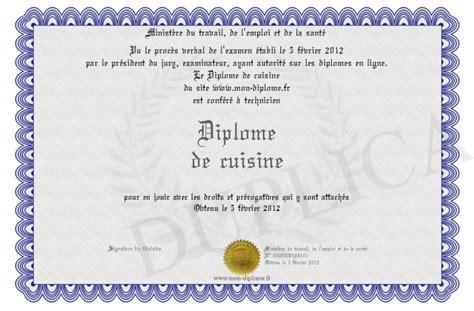 diplome de cuisine a imprimer diplome de cuisine