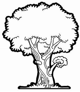Tree Clip art Black And White | DownloadClipart.org