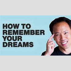 Kwik Brain Episode 14 How To Remember Your Dreams Youtube