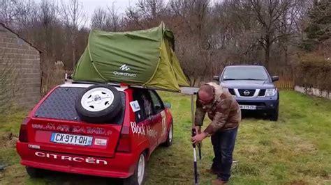 toile de tente decathlon quechua 2 secondes tente de toit