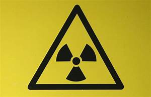 A Radioactive Material Hazard Symbol  Called A Trefoil  Is