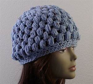 Puff Stitch Crochet Hat