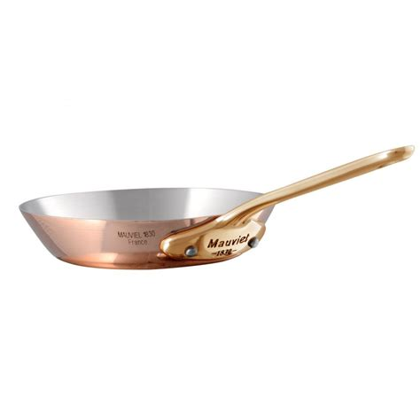 mauviel  minis  frying pan bronze
