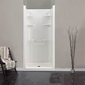 Shower Inserts With Seat Lowe39s Walk In Shower Stalls