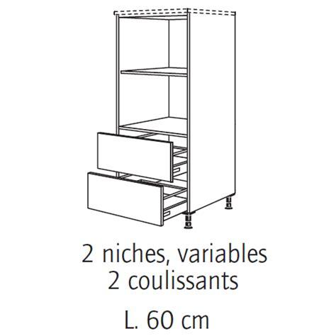 meuble cuisine pour four encastrable bien meuble colonne cuisine brico depot 9 meuble