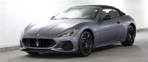 Maserati Granturismo Gt by New 2018 Maserati Granturismo Convertible Gt Convertible
