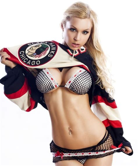 Chicago Blackhawks Wallpaper Hd Jenny Poussin 8x10 Glossy Photo Picture Image 4 Ebay