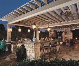 outdoor island kitchen 30 rustic outdoor design for your home