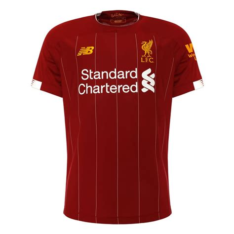 Liverpool's new home kit is comprised of the traditional red jersey, red shorts and red socks. Liverpool home jersey 2019/20 - men's