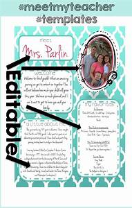 free templates teaching pinterest With free meet the teacher template