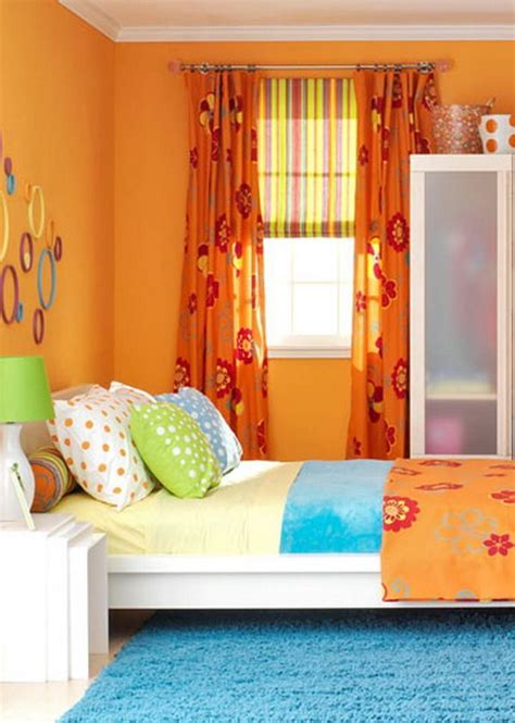 Bedroom Color Ideas Orange by Orange Bedroom Color Scheme For For The Home