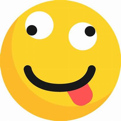 Emoji Silly Smiley Transparent Tonto Icon Emoticonos