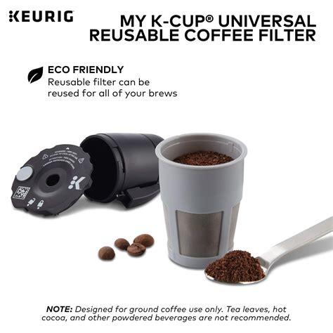 Keurig 6pk water filter cartridges. Keurig My K-Cup Universal Reusable Ground Coffee Filter ...