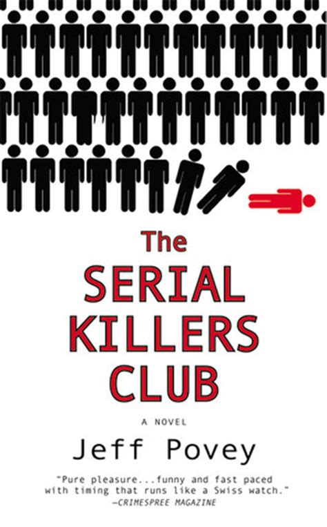 serial killers club  jeff povey