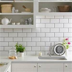 Cream metro tiles with grey grout for the home pinterest for Cream floor tiles with grey grout