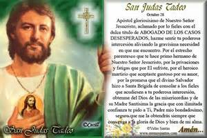 Oracion De San Judas Tadeo