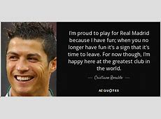 TOP 25 REAL MADRID QUOTES AZ Quotes