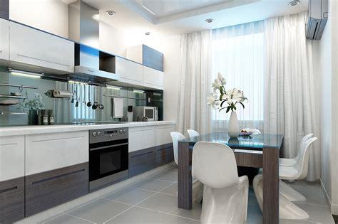 choose modern kitchen curtains  show  style