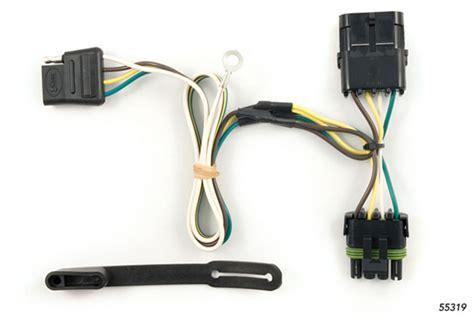 Chevy Blazer Wiring Kit Harness Curt Mfg