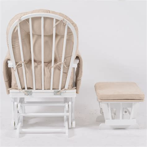Baby Breast Feeding Sliding Glider Rocking Chair With