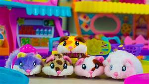 Hamsters in a House by Zuru Cute Animal Toys for Girls ...