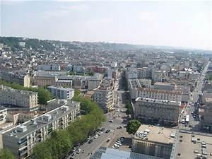 Piscine Le Havre : le havre vu de la tour de l 39 h tel de ville vers l 39 est ~ Nature-et-papiers.com Idées de Décoration