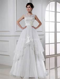 wedding dresses with boat neckline With boat neck wedding dress